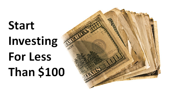 Start investing money for less than $100