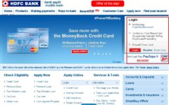 HDFC Bank Online Banking Login
