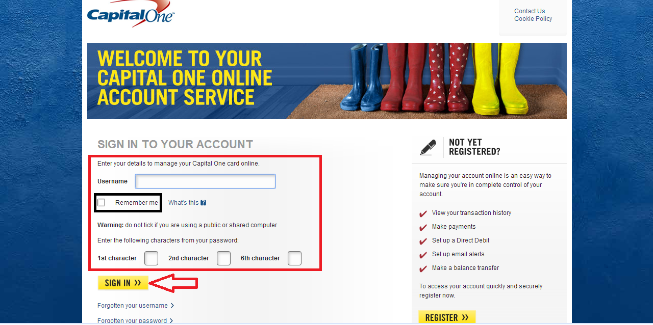Capital One Online Banking Login