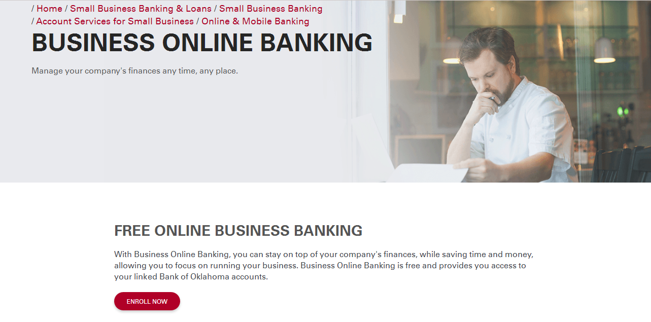 Bank of Oklahoma Online Banking