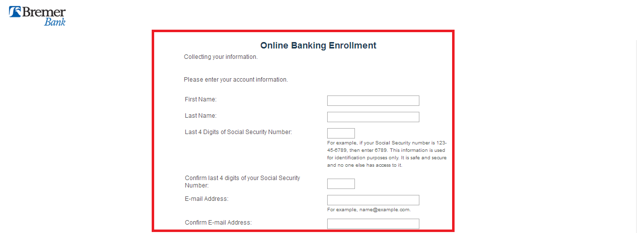 Bremer Bank Login