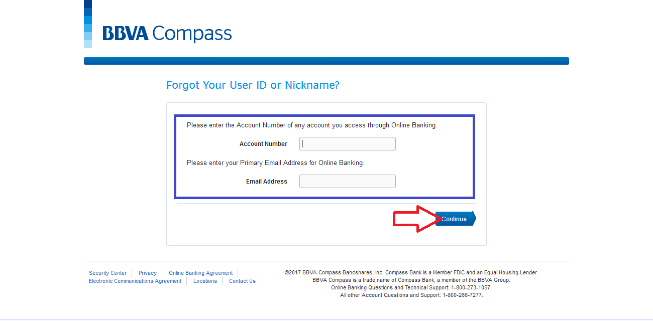 BBVA Compass Login
