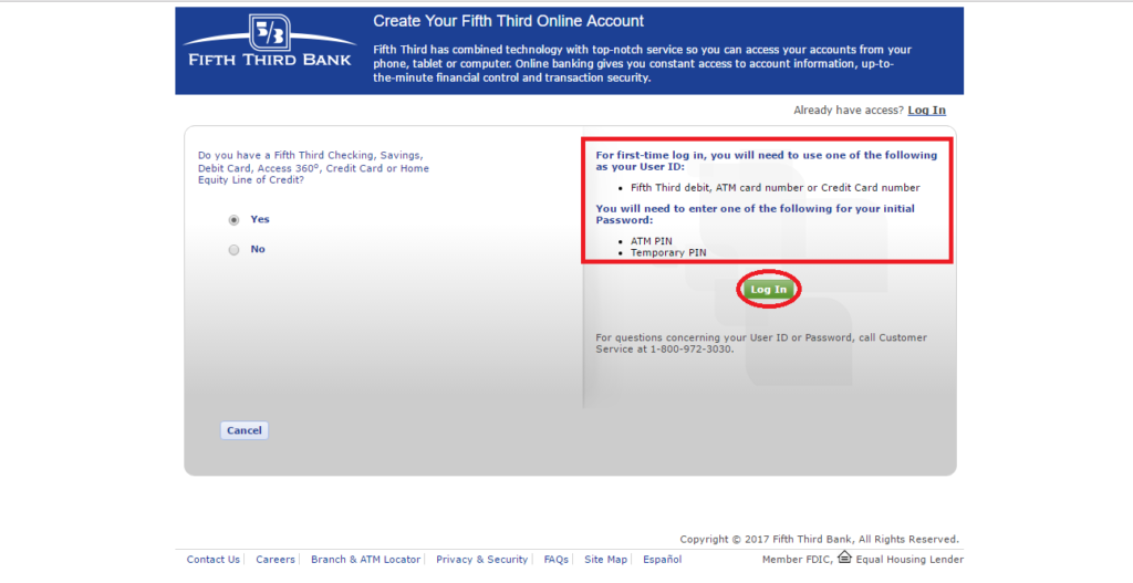 Fifth Third Online Banking