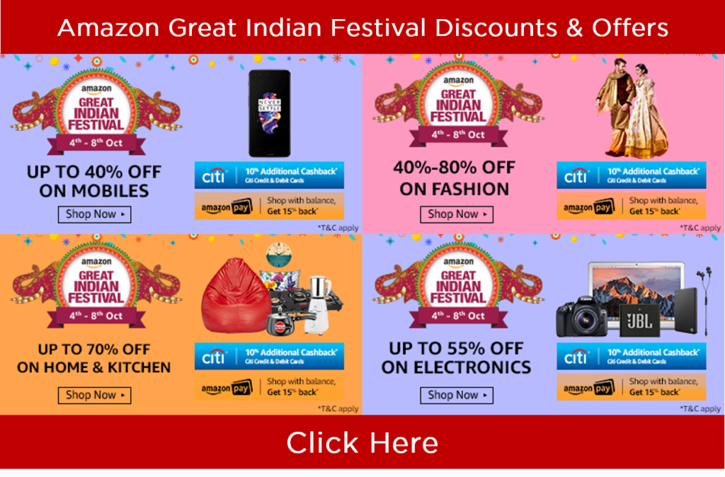 Great Indian Festival Offers